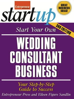 cover image of Start Your Own Wedding Consultant Business