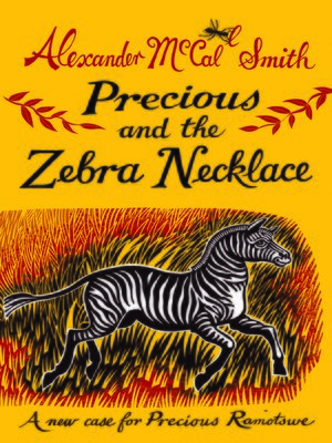 cover image of Precious and the Zebra Necklace
