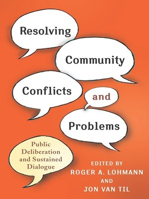 cover image of Resolving Community Conflicts and Problems