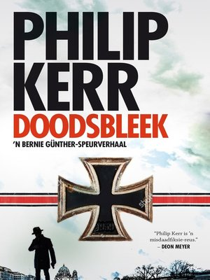 cover image of Doodsbleek