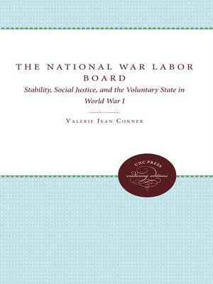 cover image of The National War Labor Board
