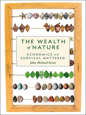 cover image of The Wealth of Nature