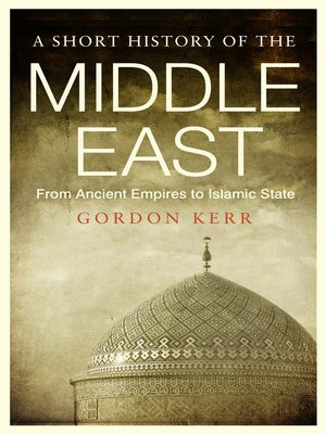 cover image of A Short History of the Middle East