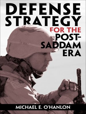 cover image of Defense Strategy for the Post-Saddam Era