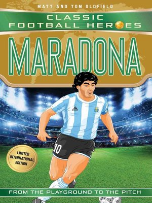 cover image of Maradona (Classic Football Heroes--Limited International Edition)