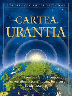 cover image of Cartea Urantia