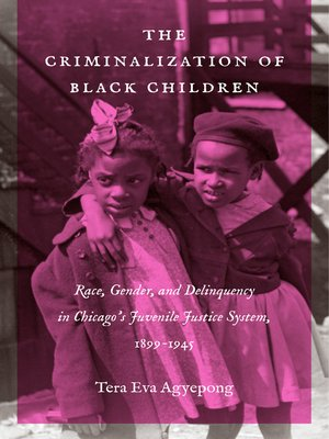 cover image of The Criminalization of Black Children