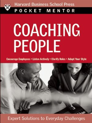 cover image of Coaching People