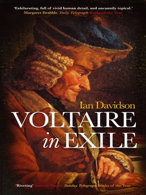 cover image of Voltaire in Exile