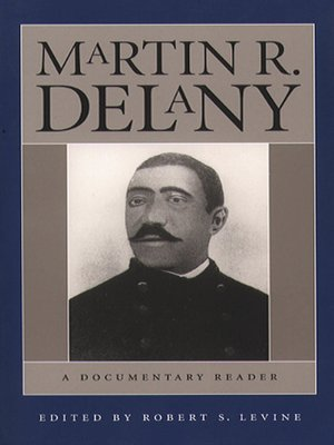 cover image of Martin R. Delany