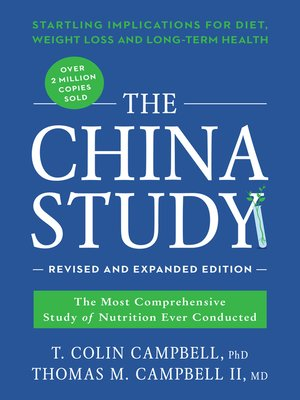 cover image of The China Study
