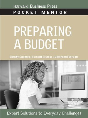 cover image of Preparing a Budget