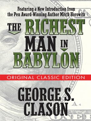 cover image of The Richest Man in Babylon  (Original Classic Edition)