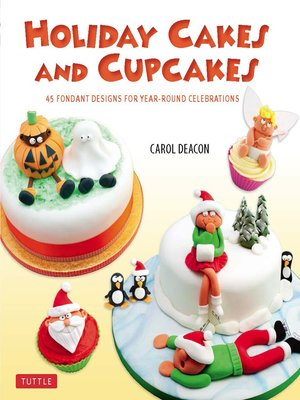 cover image of Holiday Cakes and Cupcakes