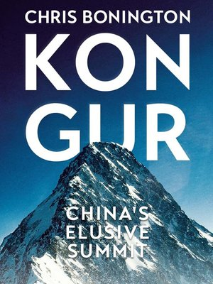cover image of Kongur