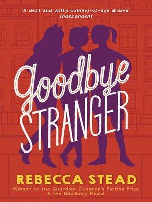 cover image of Goodbye Stranger