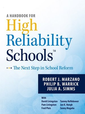 cover image of A Handbook for High Reliability Schools