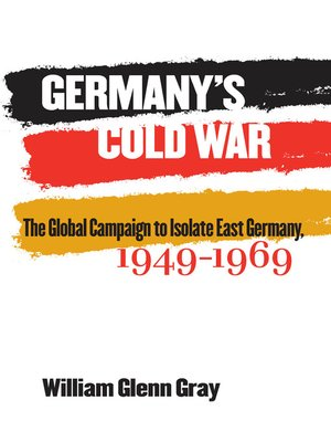 cover image of Germany's Cold War