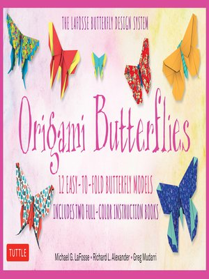 cover image of Origami Butterflies Ebook