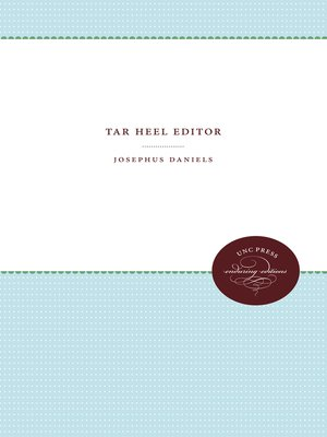 cover image of Tar Heel Editor