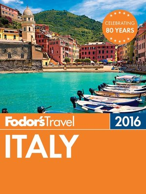 cover image of Fodor's Italy 2016