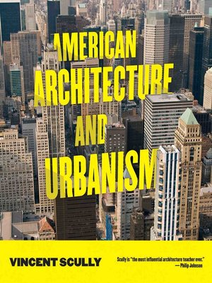 cover image of American Architecture and Urbanism