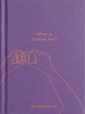 cover image of What Is Culture For?