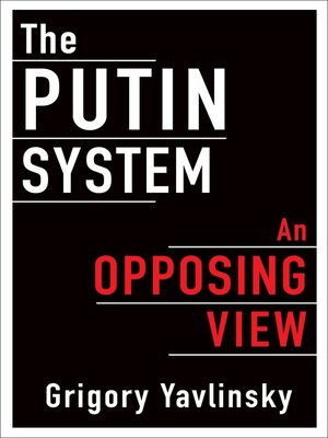 cover image of The Putin System