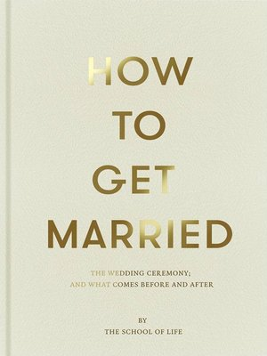 cover image of How to Get Married