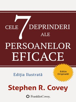 cover image of Cele 7 Deprinderi Ale Persoanelor Eficace