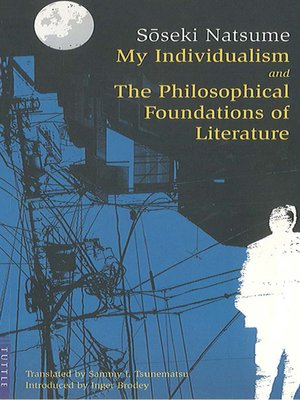 cover image of My Individualism and the Philosophical Foundations of Litera