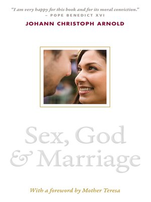 cover image of Sex, God, and Marriage