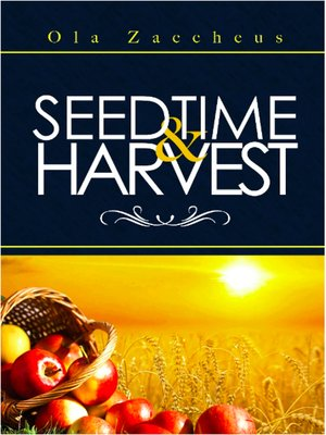 cover image of Seedtime and Harvest