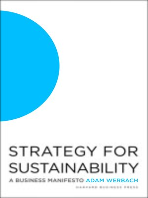 cover image of Strategy for Sustainability