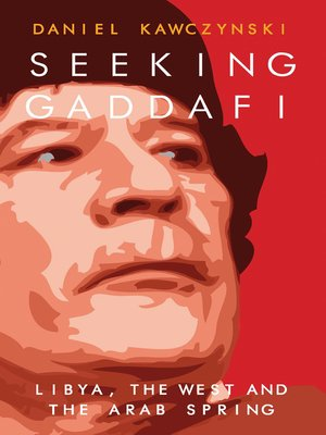 cover image of Seeking Gaddafi