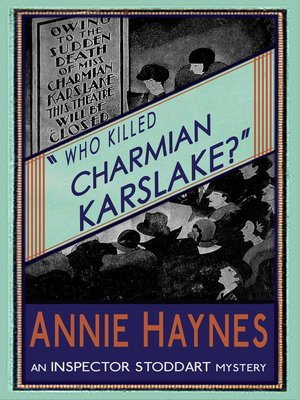 cover image of Who Killed Charmian Karslake?