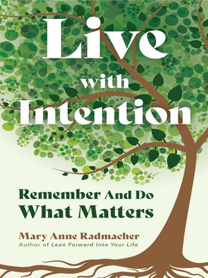 cover image of Live with Intention