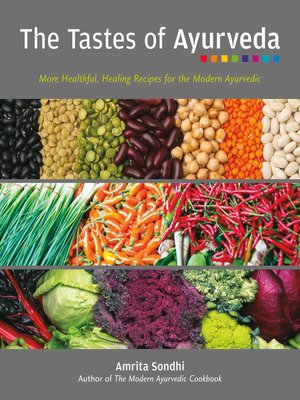 cover image of The Tastes of Ayurveda