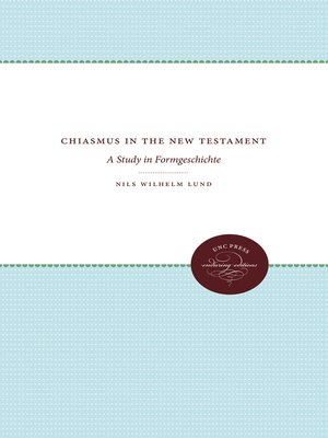cover image of Chiasmus in the New Testament