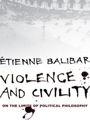 cover image of Violence and Civility