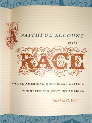 cover image of A Faithful Account of the Race
