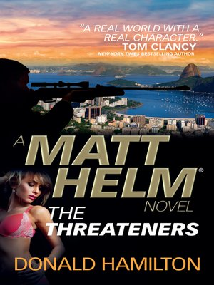 cover image of Matt Helm--The Threateners