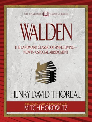cover image of Walden