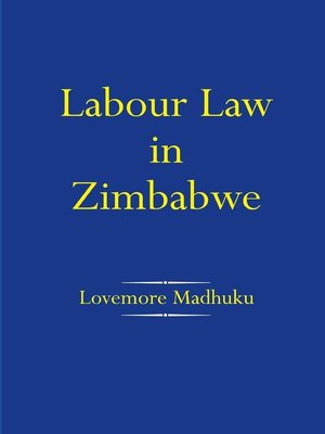 labour law contract of employment zimbabwe pdf