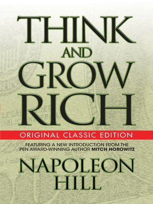 cover image of Think and Grow Rich (Original Classic Edition)