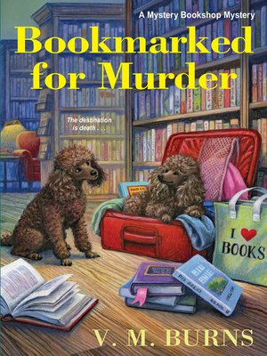 cover image of Bookmarked for Murder