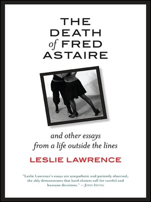 cover image of The Death of Fred Astaire
