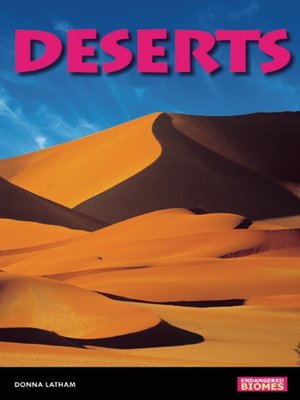 cover image of Deserts