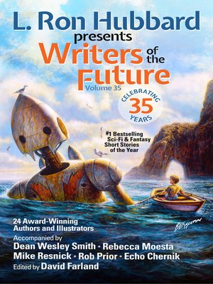 cover image of L. Ron Hubbard Presents Writers of the Future Volume 35