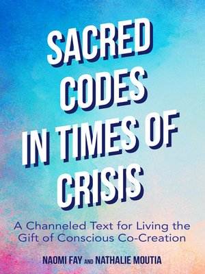 cover image of Sacred Codes in Times of Crisis